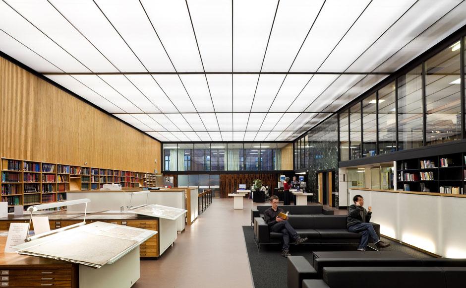 Western bank library avanti architects - Sheffield school of interior design ...