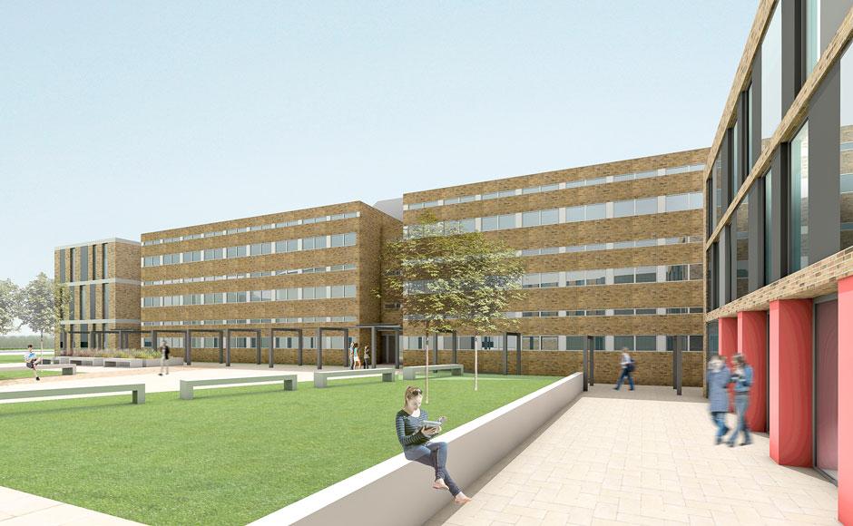 Physics Building Lancaster University