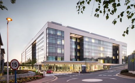 Newly finished Ulster Hospital